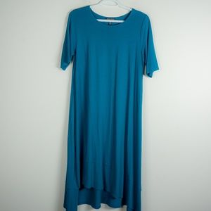 Eileen Fisher Mini Blue Viscose Dress S